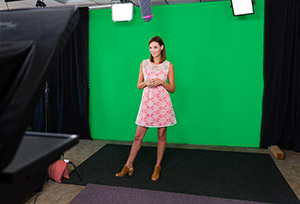 Chroma Key Studio Full Shot Janna