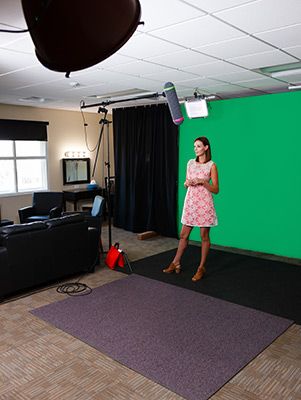 Chroma Key Studio Portriat Shot Janna