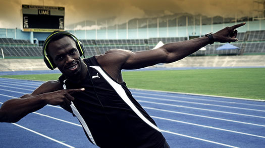 Usain Bolt – Soul Headphones