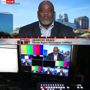 Desmond Meade Amendment 4 Live Shot