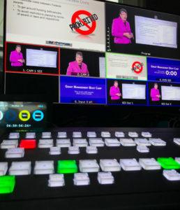 Lucy Webcast Control Room Webinar Studio